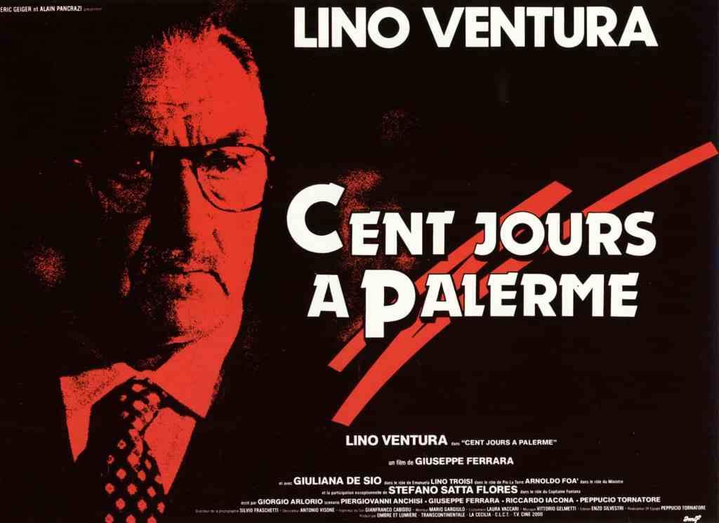Cent jours à Palerme, affiche 4X3, archives CinéDweller