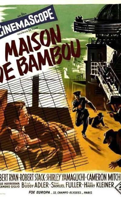 Maison de bambou, l'affiche