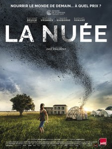 La nuée, affiche du film de Just Philippot (2021)