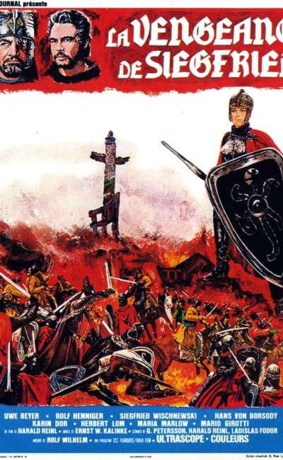 La vengeance de Siegfried, l'affiche