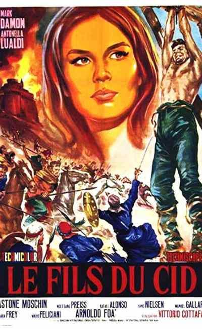 Le fils du Cid, affiche cinéma de Les cent cavaliers