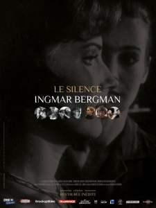 Affiche française (reprise) du Silence d'Ingmar Bergman