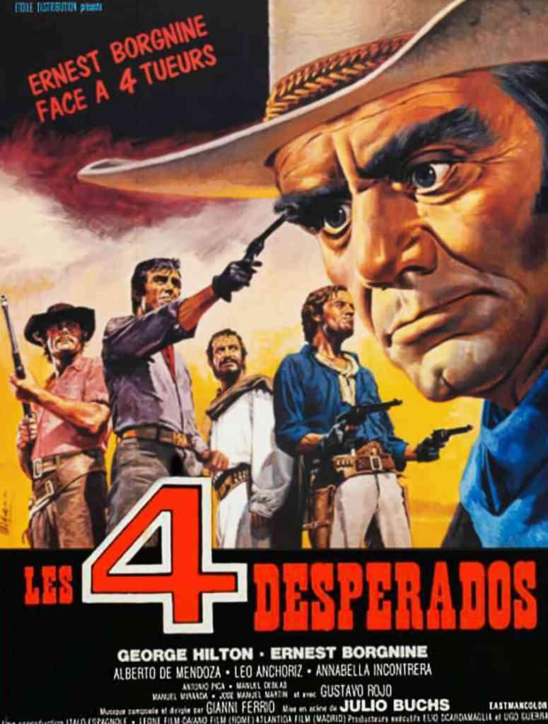 Les Quatre Desperados, affiche de Maaschi
