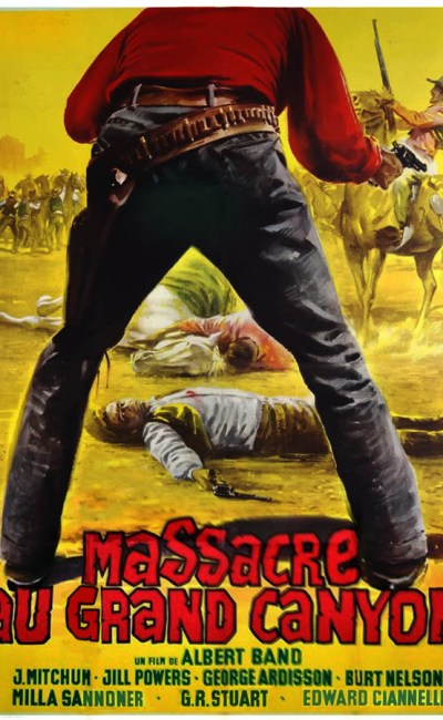 Massacre au grand canyon, affiche du film d'Albert Band