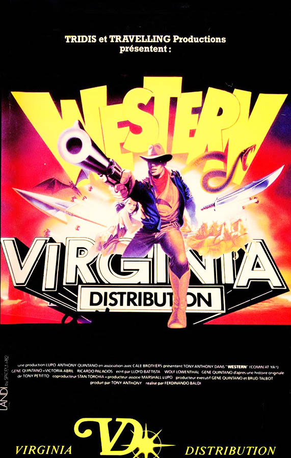 Western, en VHS Virginia DIstribution