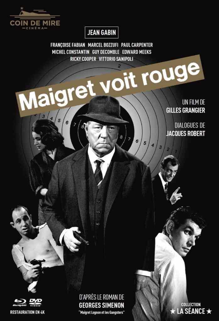 dans Maigret voit rouge, affiche 2020