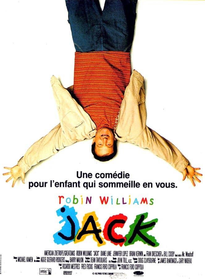 Affiche de Jack, avec Robin Williams