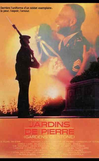 Jardins de pierre, affiche du film