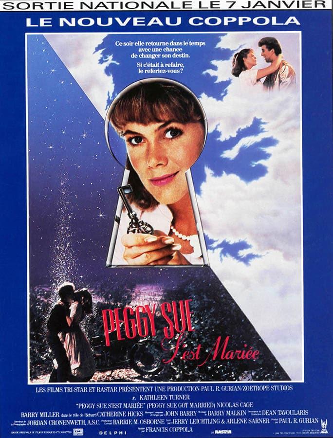Peggy Sue s'est mariée, affiche française, poster