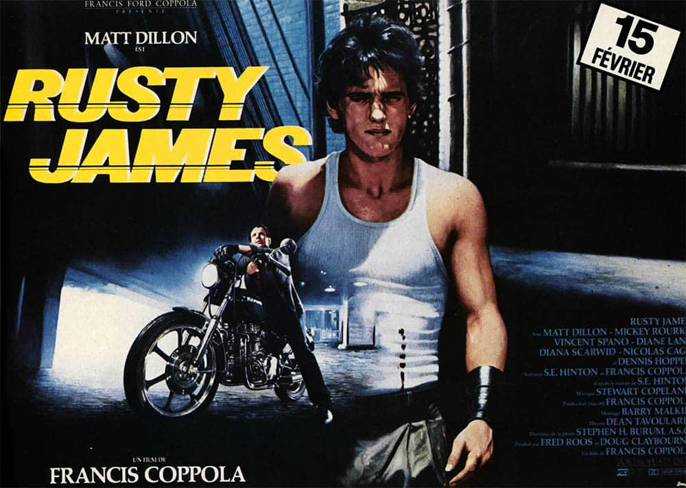 Rusty James, affiche du film en format 4X3