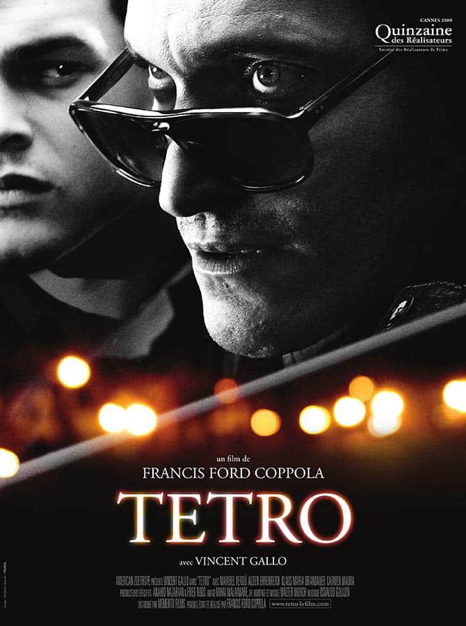 Tetro, affiche du film de Francis Ford Coppola