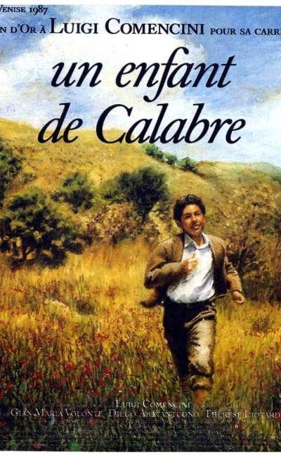 Un enfant de Calabre, l'affiche