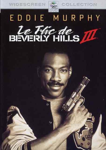 Le flic de beverly hills 3, cover DVD