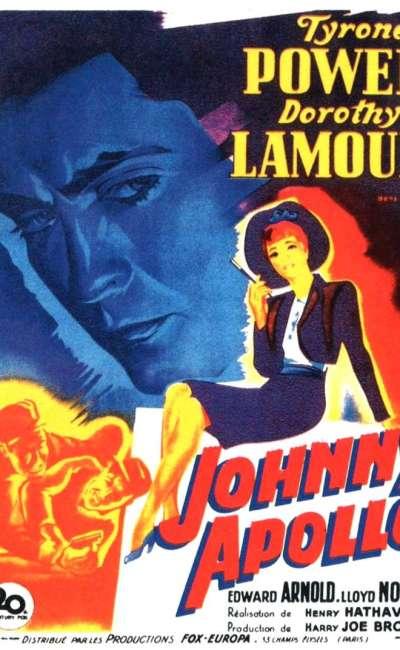 Johnny Apollo, l'affiche