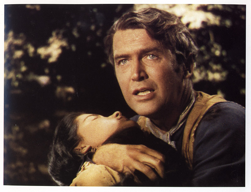 James Stewart dans La Flèche Brisée