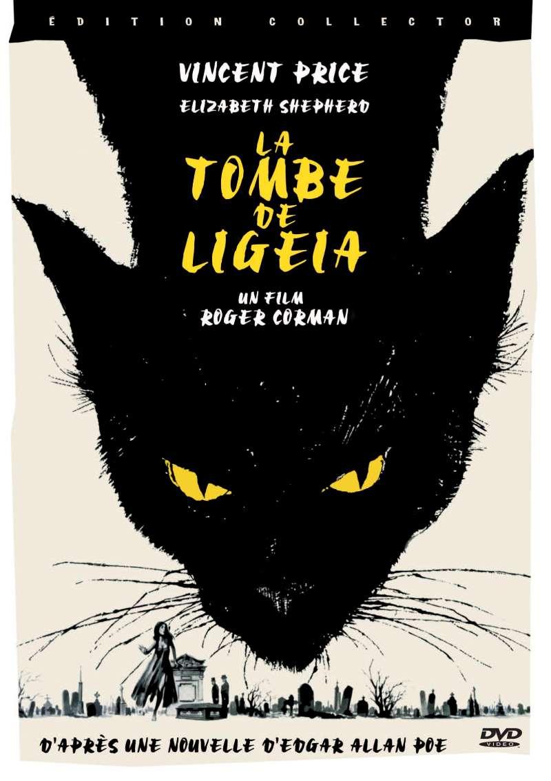 La tombe de Ligeia, la jaquette DVD