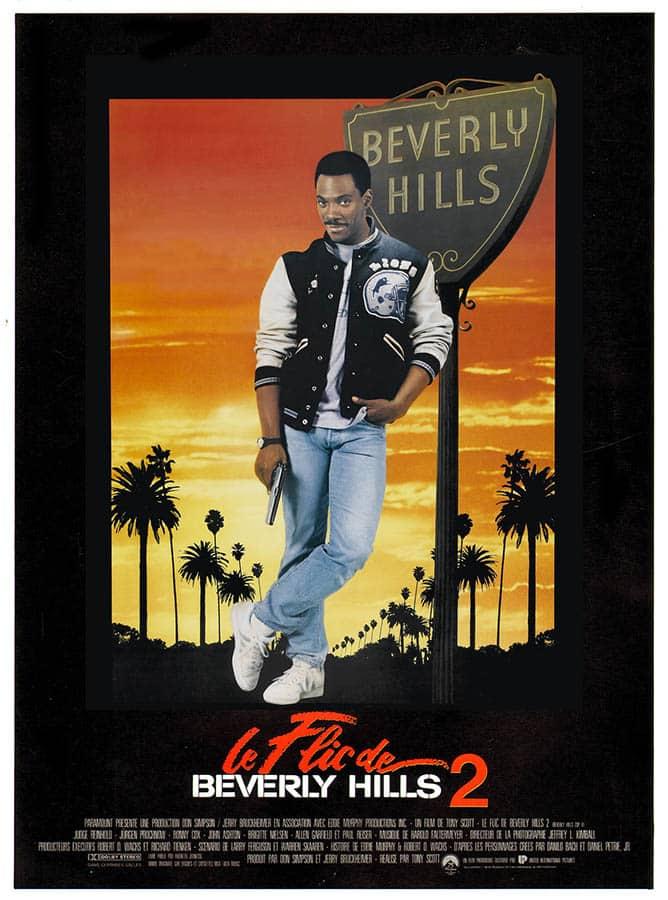 Eddie Murphy dans Le flic de Beverly Hills, affiche