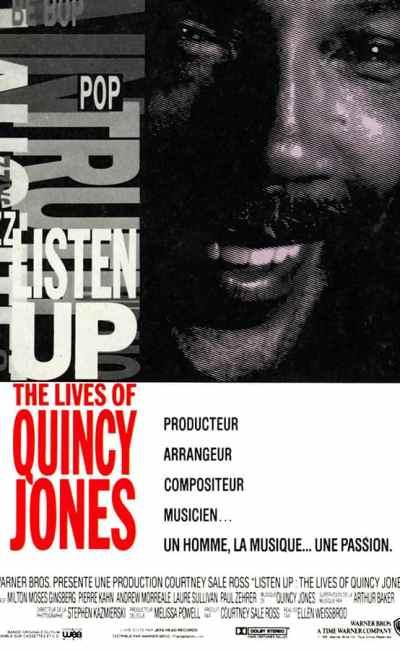 Listen Up the lives of Quincy Jones, affiche du film