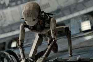 Un robot dans Space Sweepers