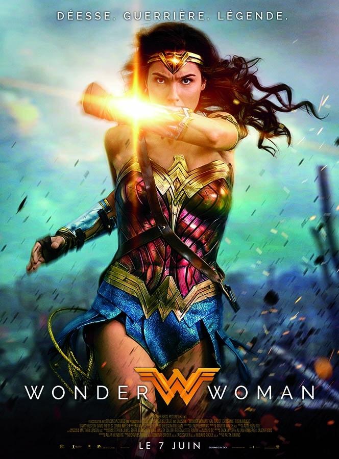 Wonder Woman, affiche du film avec Gal Gadot (2017)