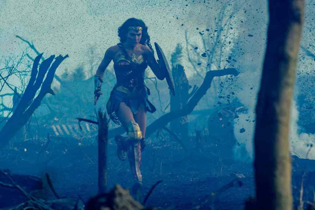 Wonder Woman, photo du film avec Gal Gadot (2017)