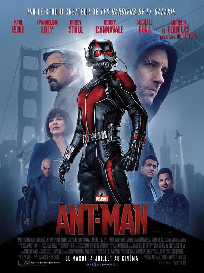 Ant-Man, affiche du premier film