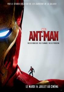Affiche teaser Iron Man de Ant-Man