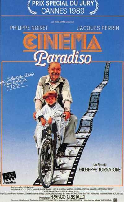 Cinema Paradiso, affiche du film de Tornatore