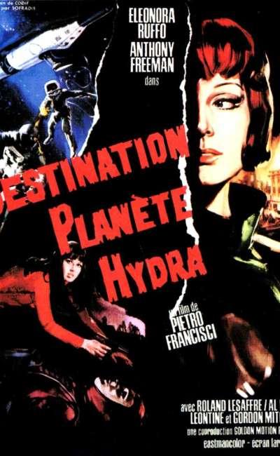 Destination planète Hydra, l'affiche
