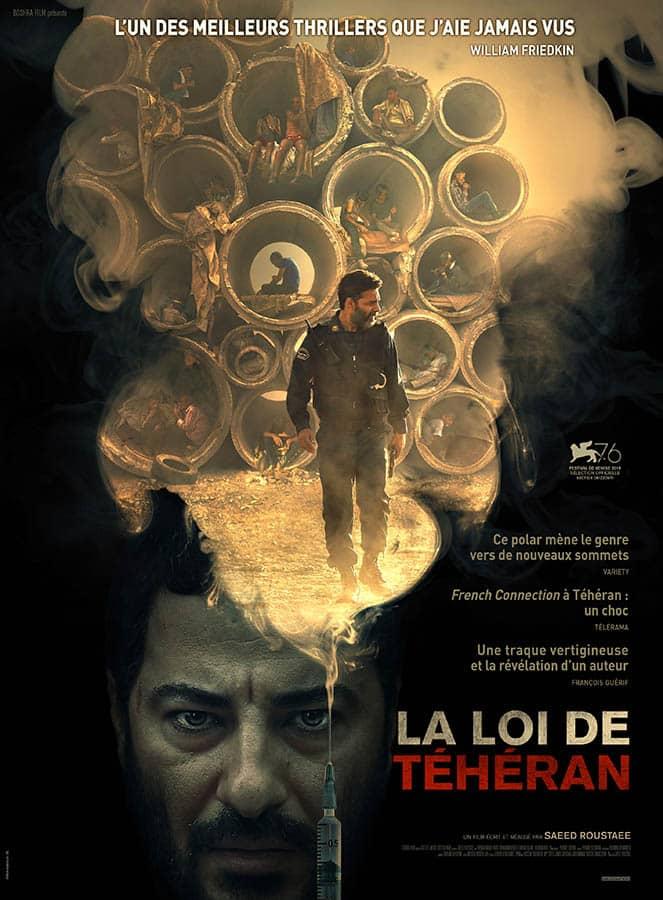 La Loi de Téhéran, affiche du film