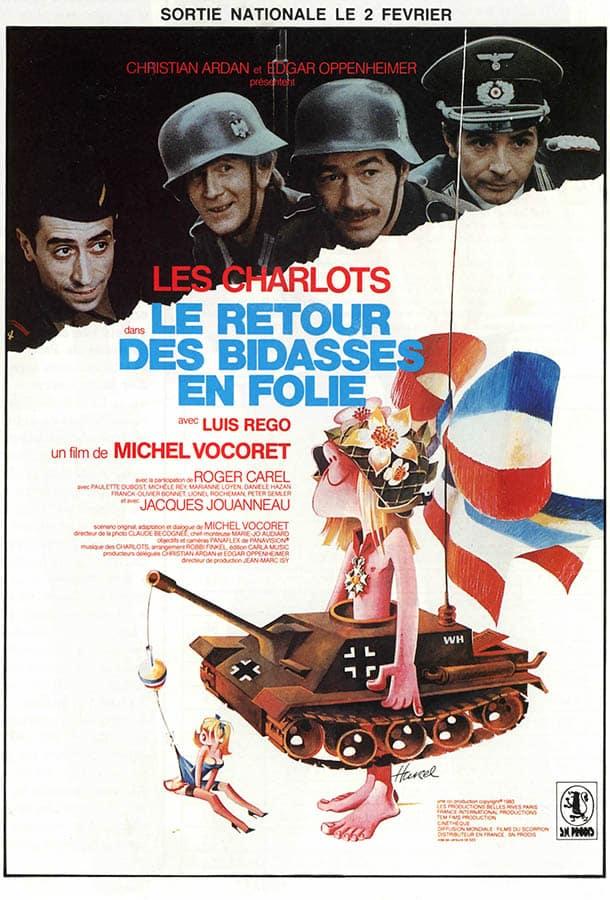 Le retour des bidasses en folie de Michel Vocoret