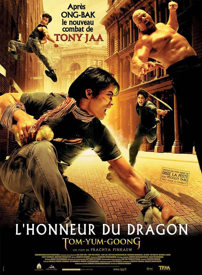 L'honneur du Dragon, affiche cinéma