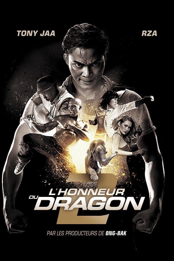 Lhonneur du dragon, jaquette Metropolitan FilmExport