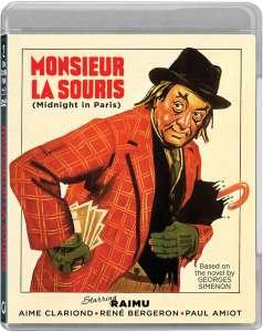Monsieur La Souris, jaquette blu-ray