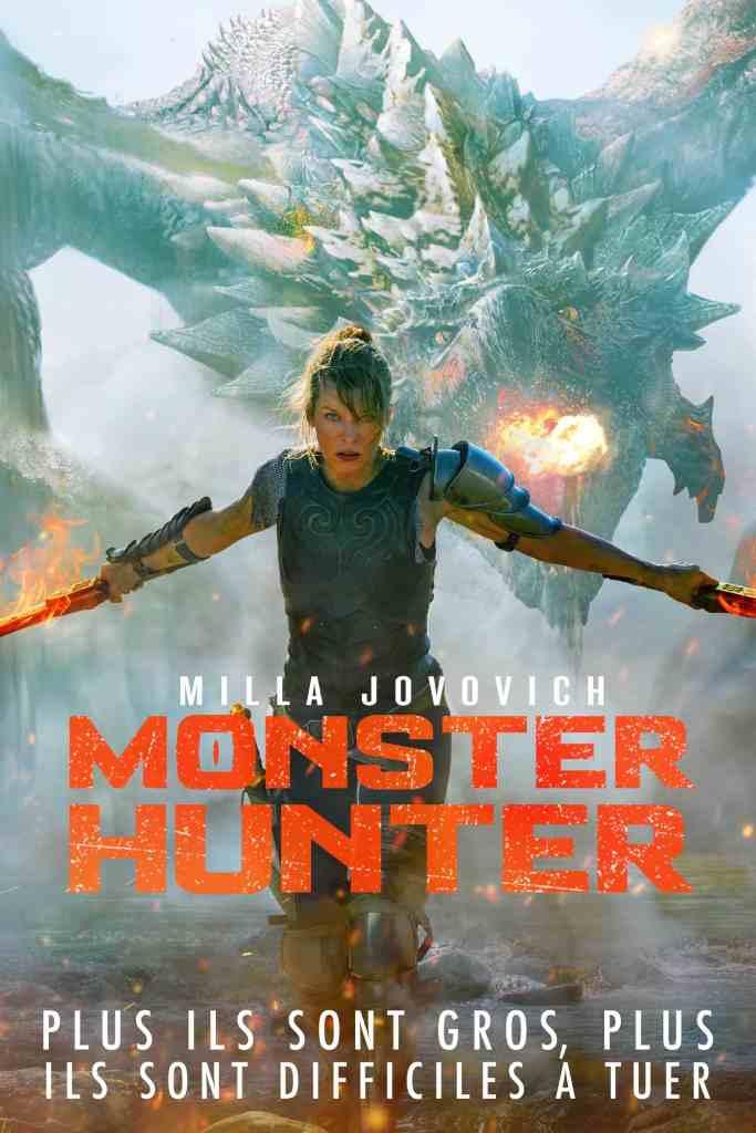Monster Hunter, affiche française alternative