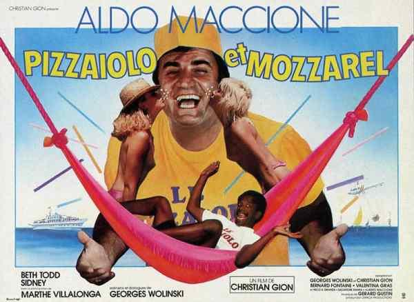 Pizzaiolo et Mozzarel, l'affiche 4X3 de Michel Landi
