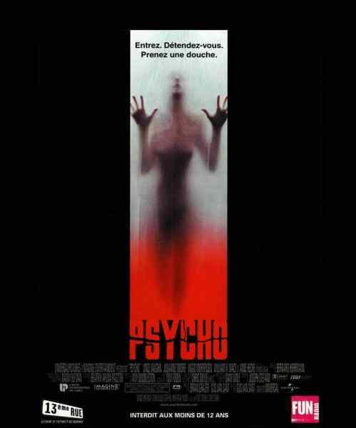 Affiche de Psycho (1998) de Gus Van Sant