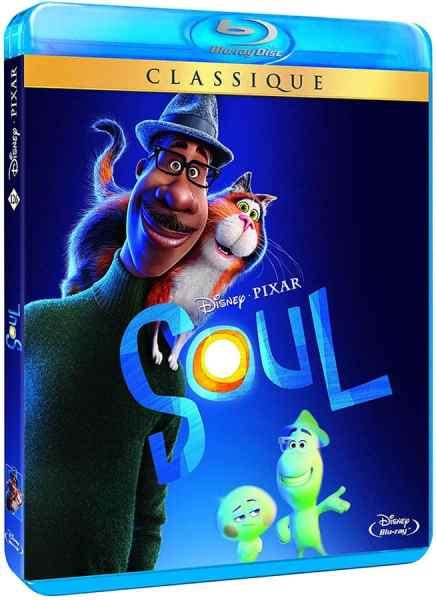 Soul (Pixar) en blu-ray