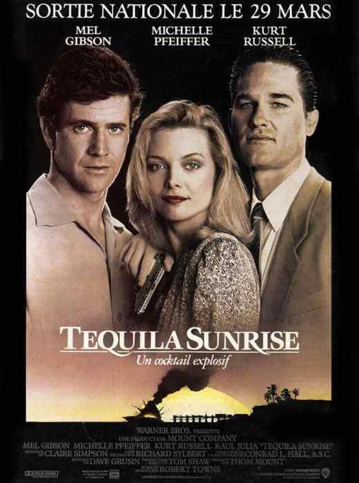 Tequila Sunrise, affiche alternative