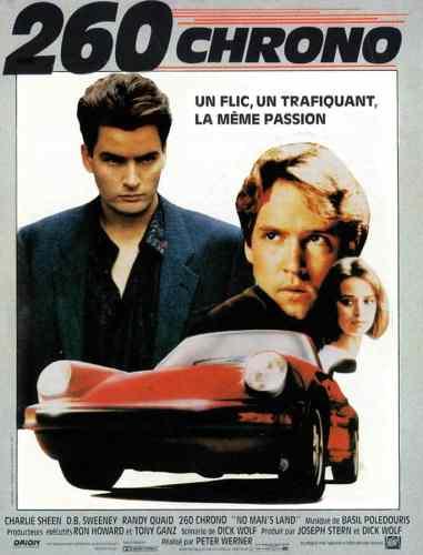 260 Chrono, affiche du film 1987