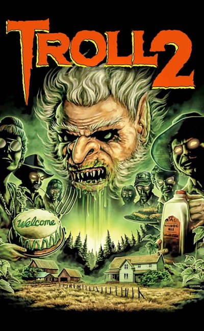 Affiche de Troll 2 par Justin Osbourn