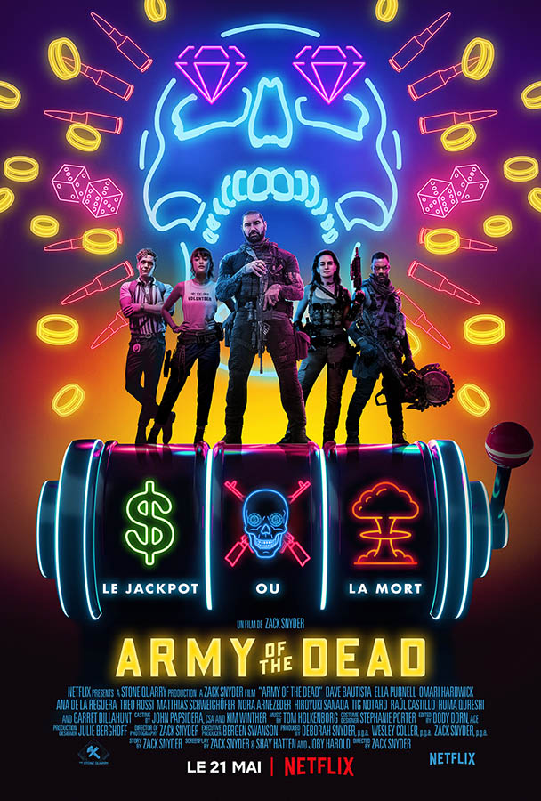 Army of the Dead, affiche du film de Zac Snyder