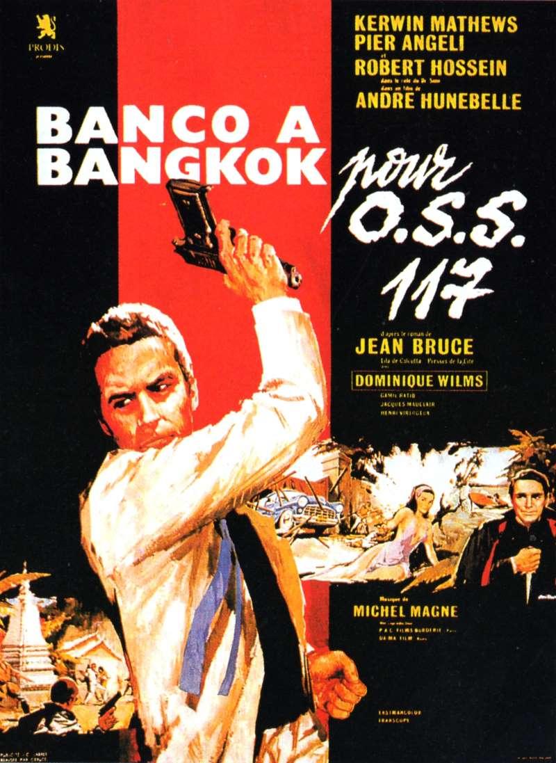 Banco à Bangkok pour OSS 117, l'affiche