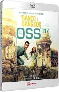 Banco à Bangkok pour OSS 117, jaquette blu-ray
