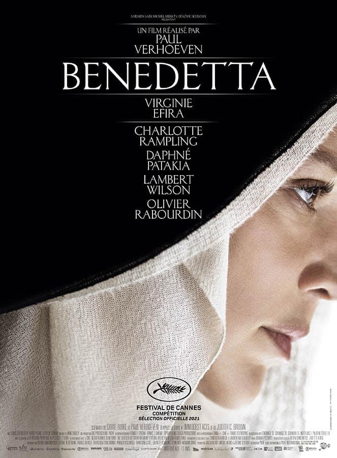 Benedetta de Paul Verhoeven, affiche du film