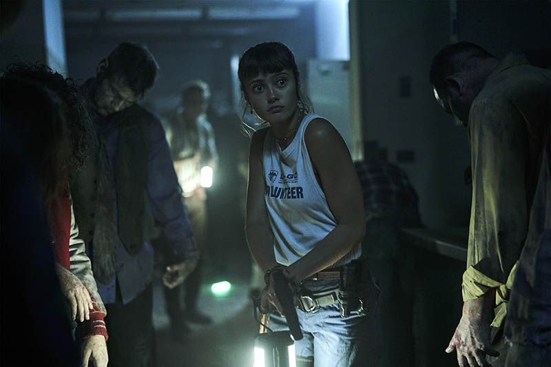 Ella Purnell dans Army of the Dead, photo