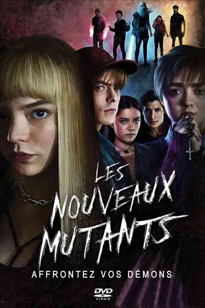 Les nouveaux mutants, artwork dvd