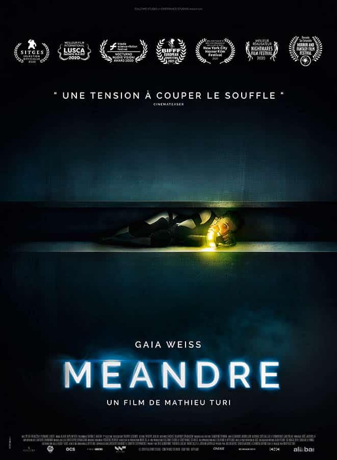 Méandre, affiche film avec Gaia Weiss