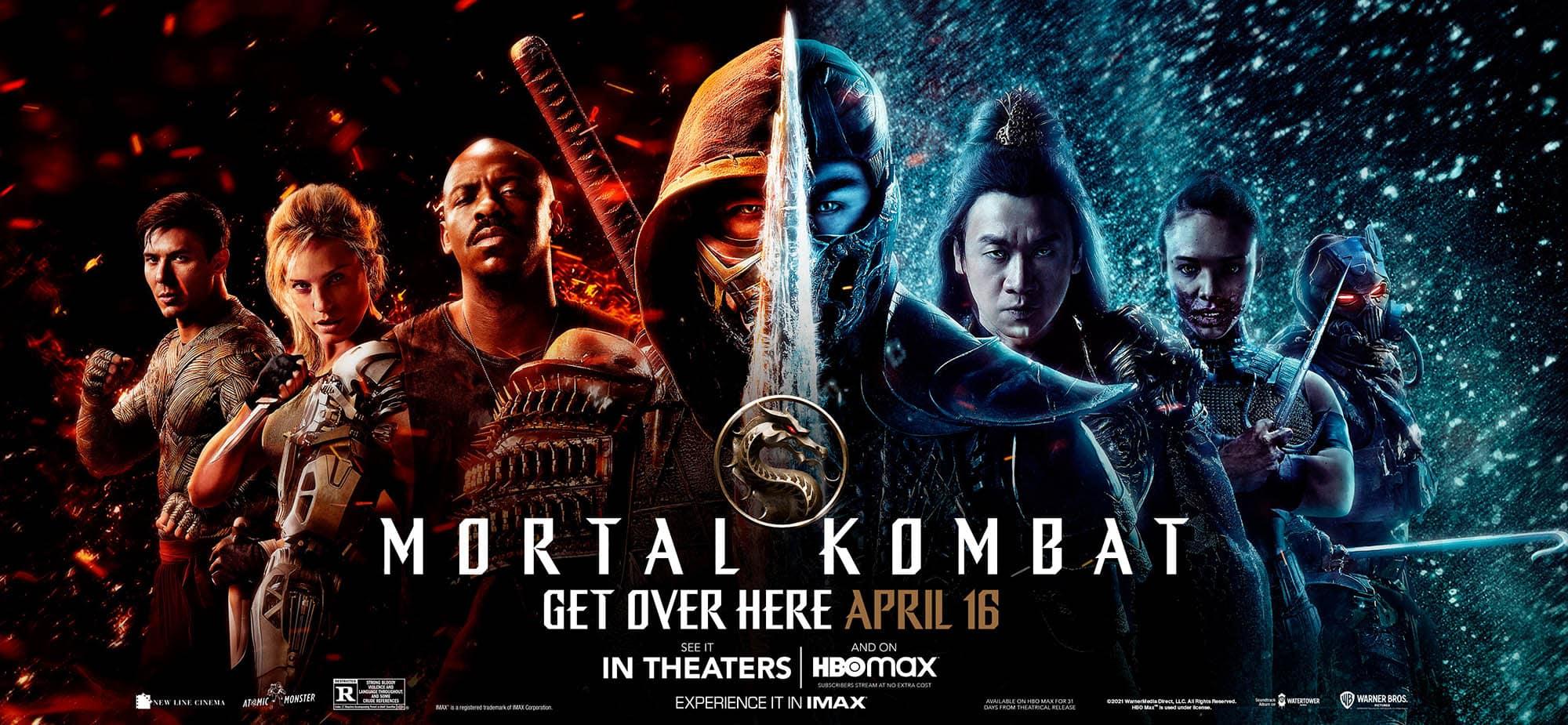 Mortal Kombat,affiche slider
