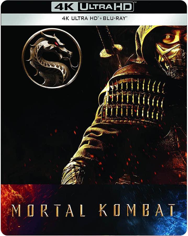 Mortal Kombat en blu-ray 4K Ultra HD steelbook collector chez Amazon